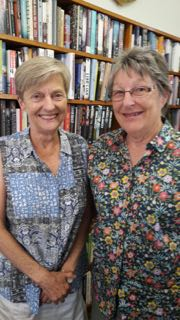 Kathryn Fry(left) and Brenda Proudfoot leaders